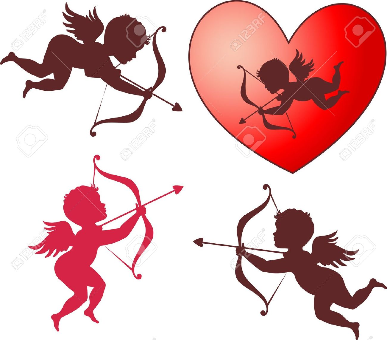 Cupid clipart wedding. Valentines pictures free download