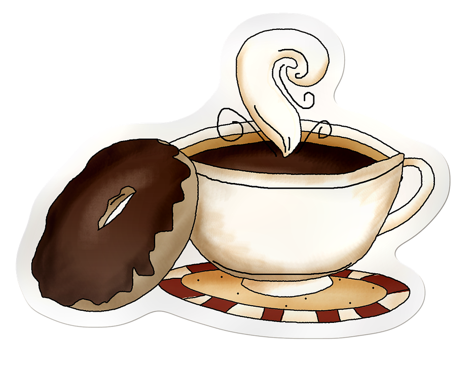 Collection of cup coffee. Mug clipart tasa