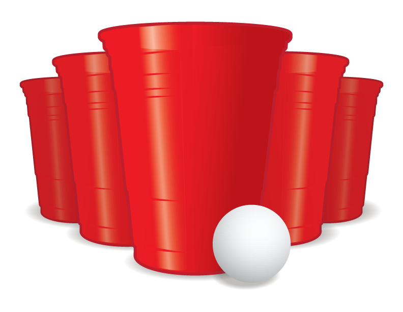 Hollywood beer pong info. Game clipart tournament