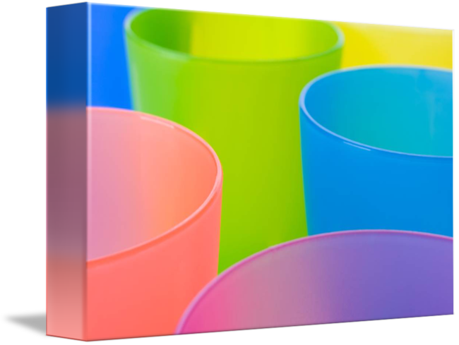 Abstract by jazzboo . Cups clipart colorful plastic