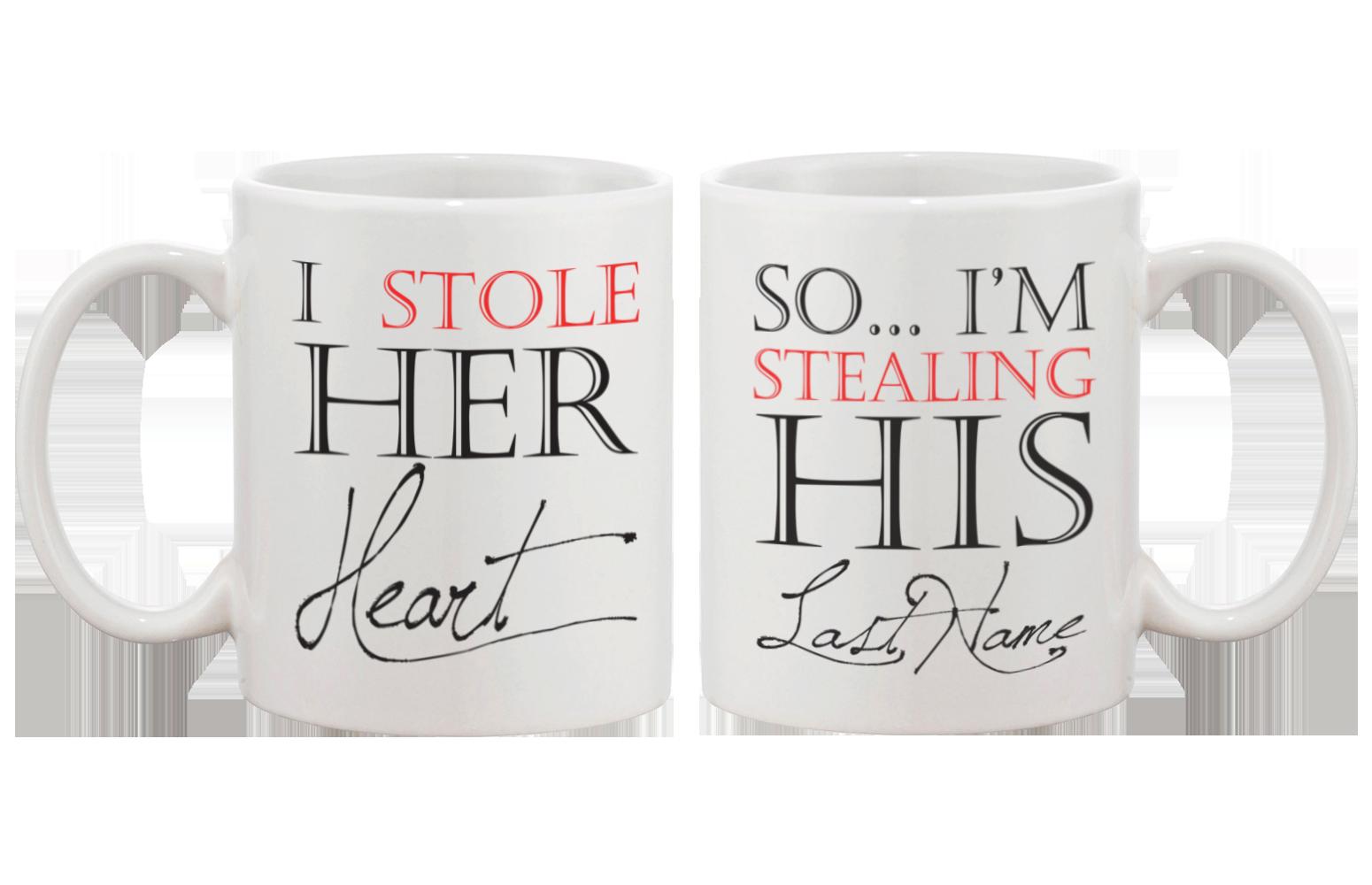 Unique couple mugs perfect. Cups clipart cup design