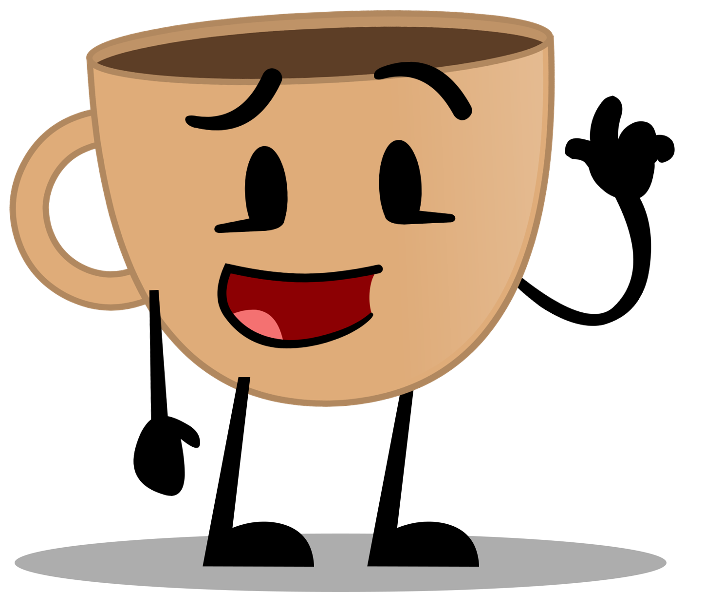 Cups clipart many object. Image coffee cup new
