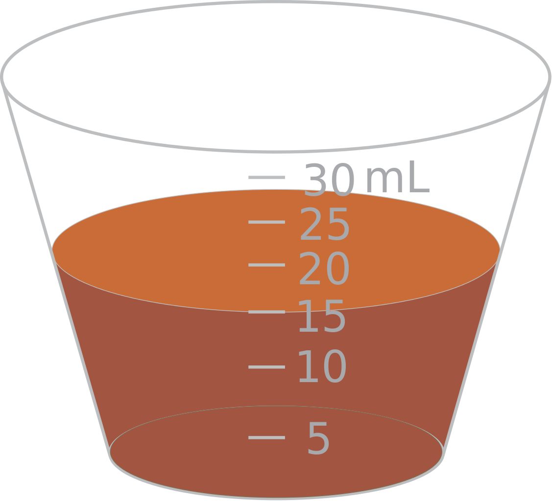 File ml cup svg. Cups clipart measuring
