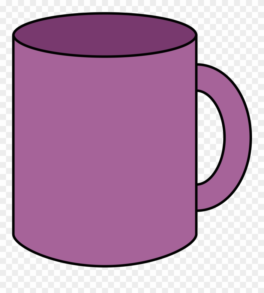Ch b loza violet. Cups clipart object
