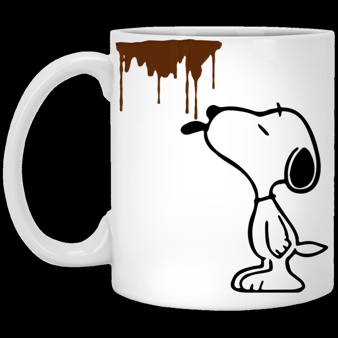 Snoopy dirty funny mugs. Mug clipart grey coffee
