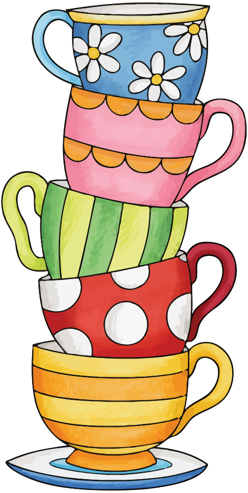 Cups clipart stacked cup. Onlinelabels clip art stack