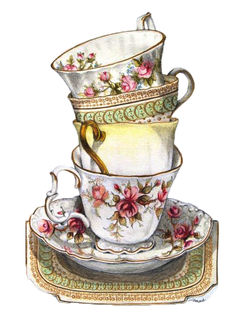 Vintage drawing at getdrawings. Intolerable acts clipart cup tea