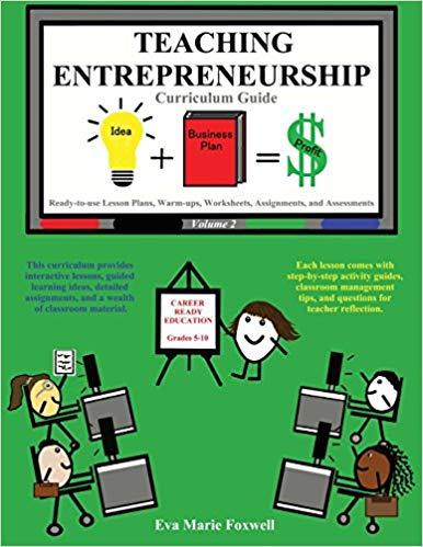 Teaching entrepreneurship guide eva. Curriculum clipart assignment book