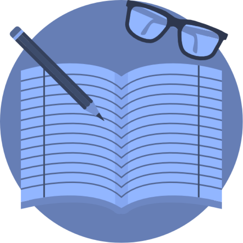 Notebook clipart composition notebook. Course descriptions english notebookwith