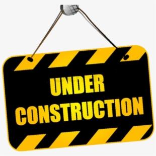 Construction under sign . Curriculum clipart constuction