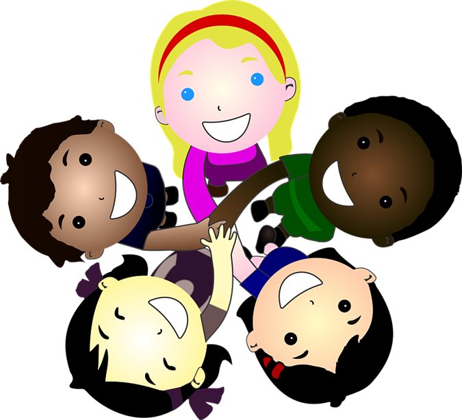 Early childhood five olds. Young clipart 2 year old