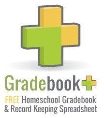 Free downloadable and homeschool. Curriculum clipart gradebook