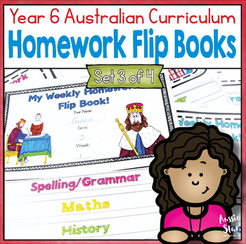 Curriculum clipart homework book. Year flip books for