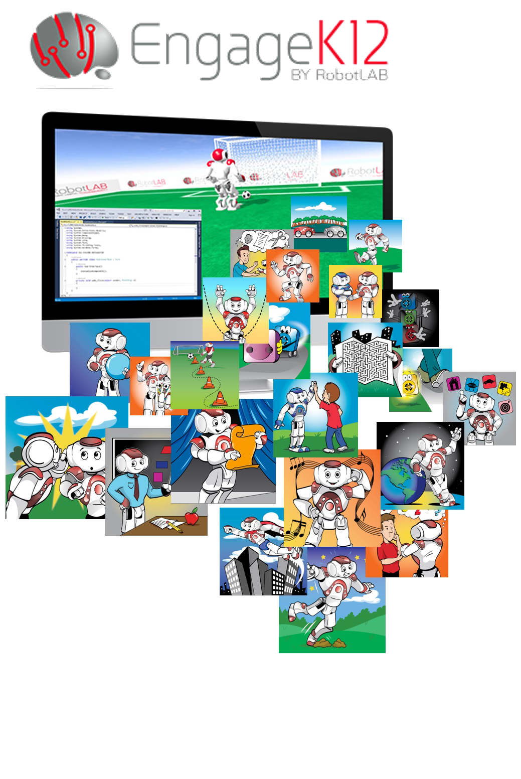 Engage k. Textbook clipart curriculum