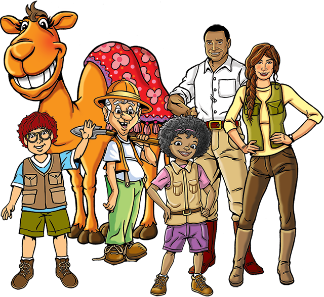 Curriculum clipart kids museum. The promise vbs excavation