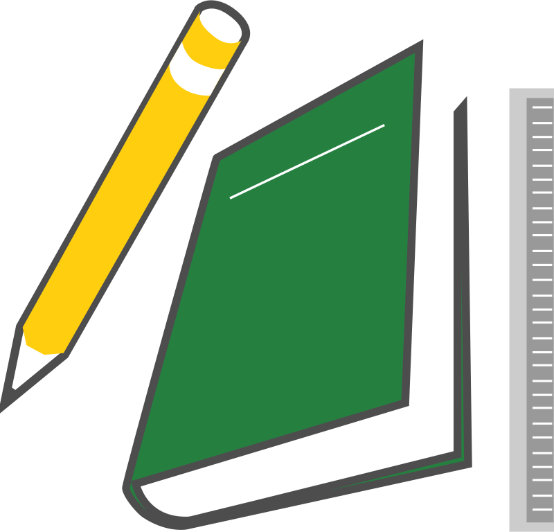 Image for books and. Curriculum clipart pencil