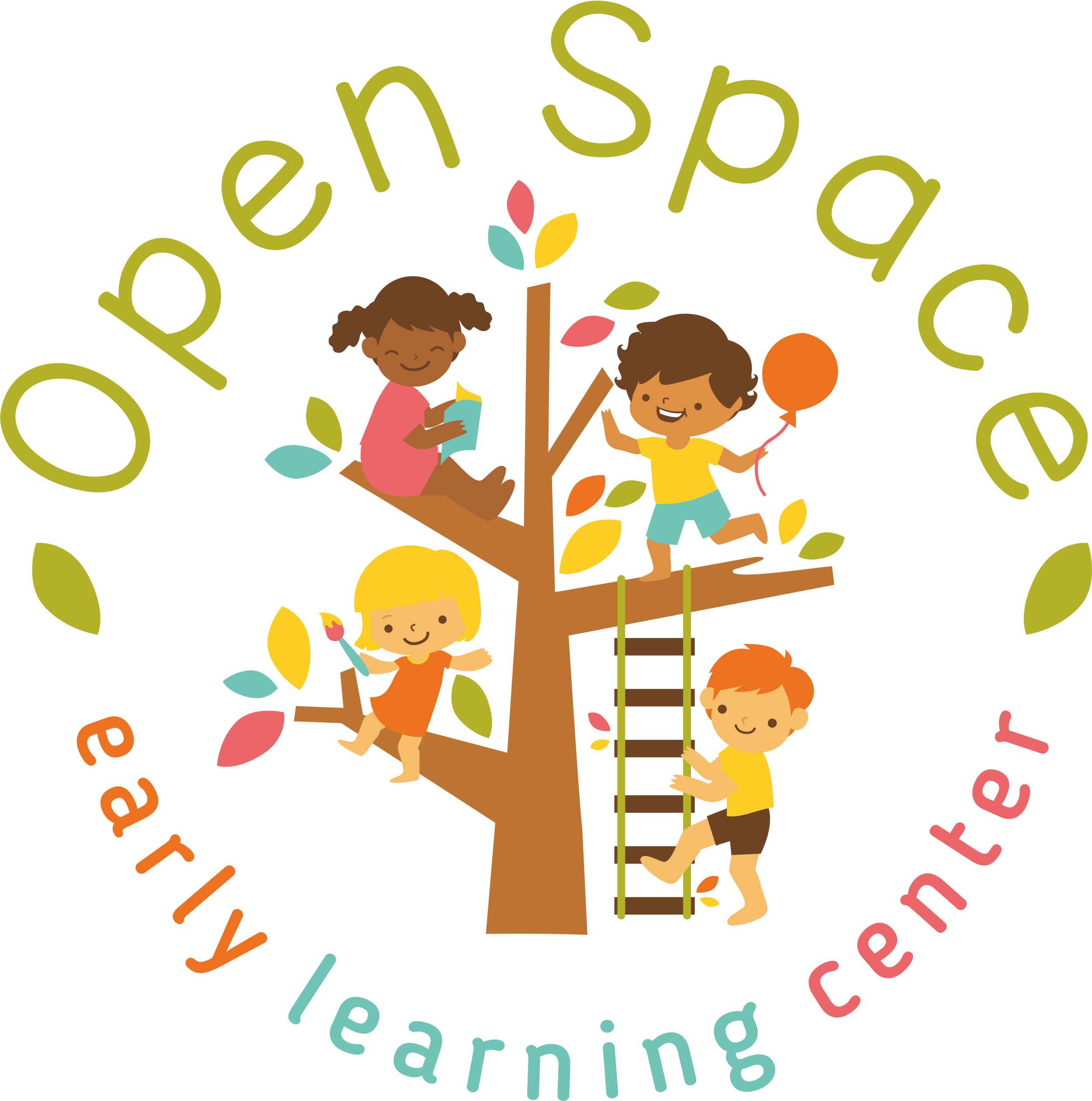 Open space early learning. Curriculum clipart preschool center time