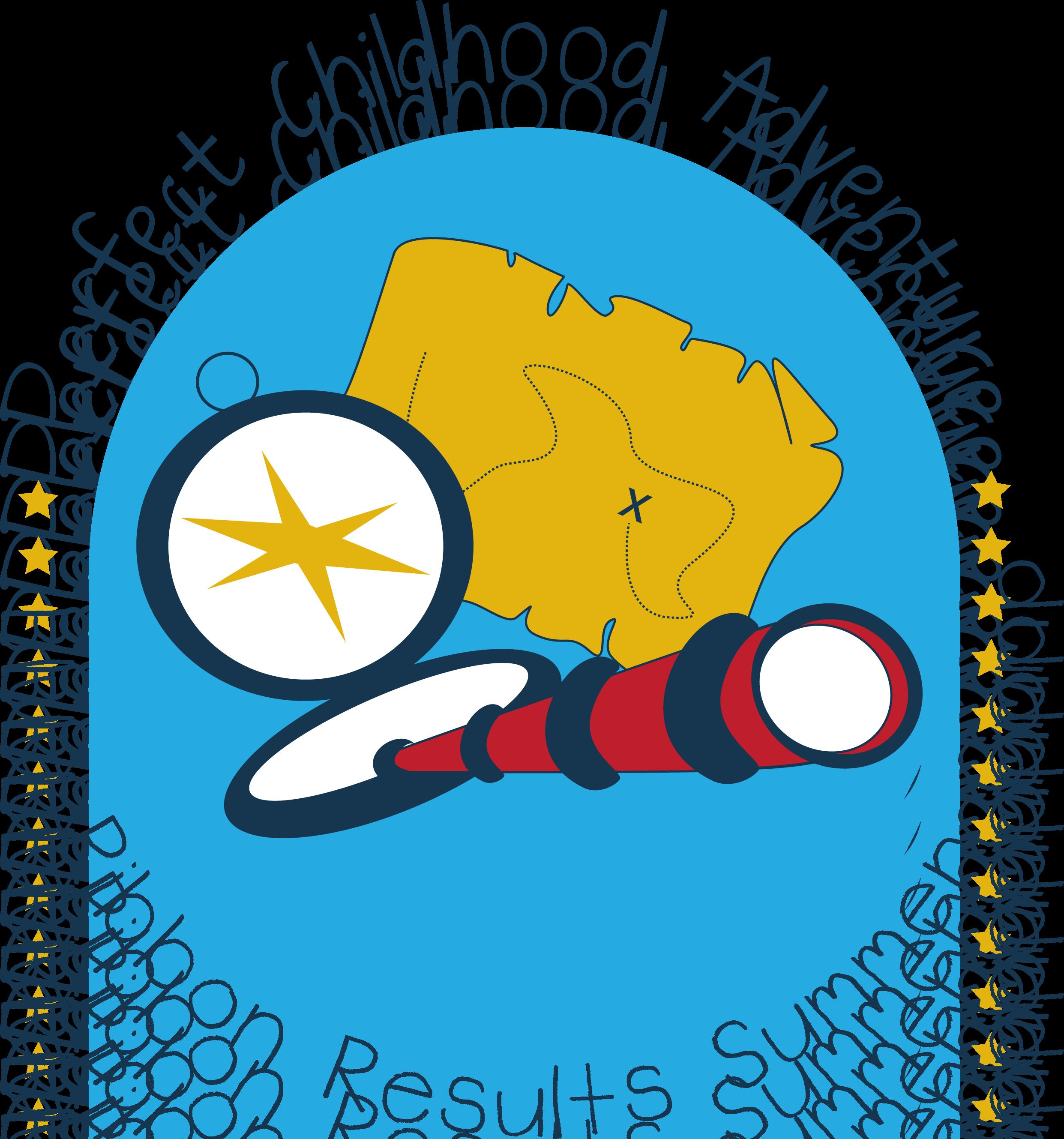 Curriculum clipart preschool center time. Summer camp blue ribbon