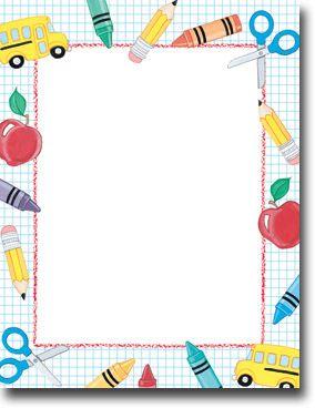 Imprintable blank stock stuff. Curriculum clipart school papers
