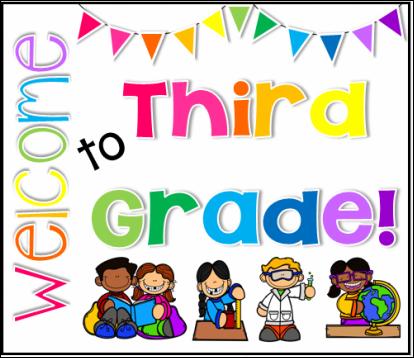 Curriculum clipart third grade.  rd