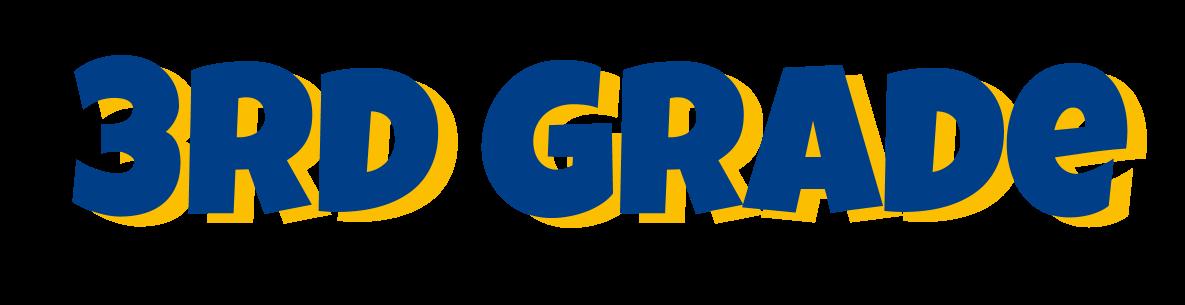 Grades clipart 3rd.  rd grade bluejacket