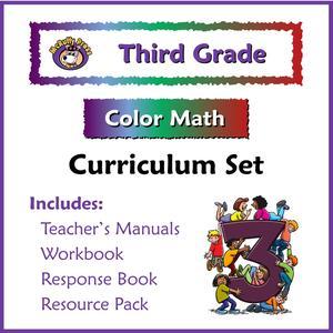 Curriculum clipart third grade. Color math