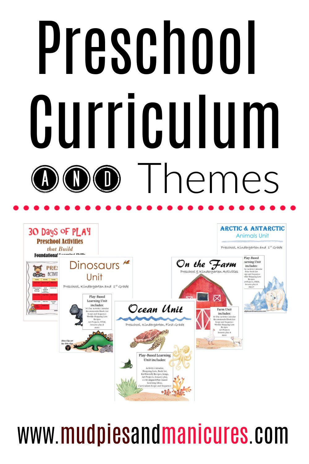 Preschool themes . Curriculum clipart topic