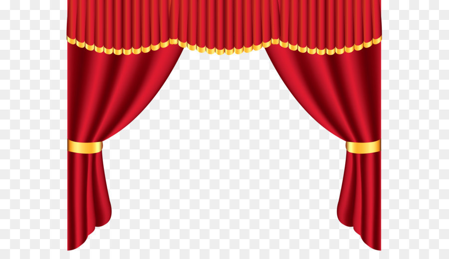 Curtain clipart. Window curtains png download