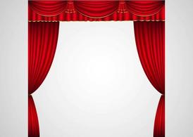 Curtains clipart flower. Free stage curtain and
