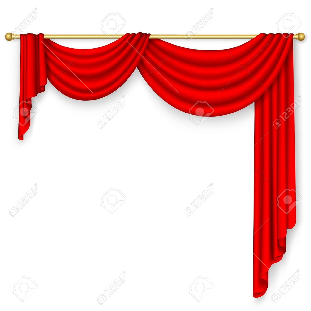Awesome opera stage pencil. Curtain clipart