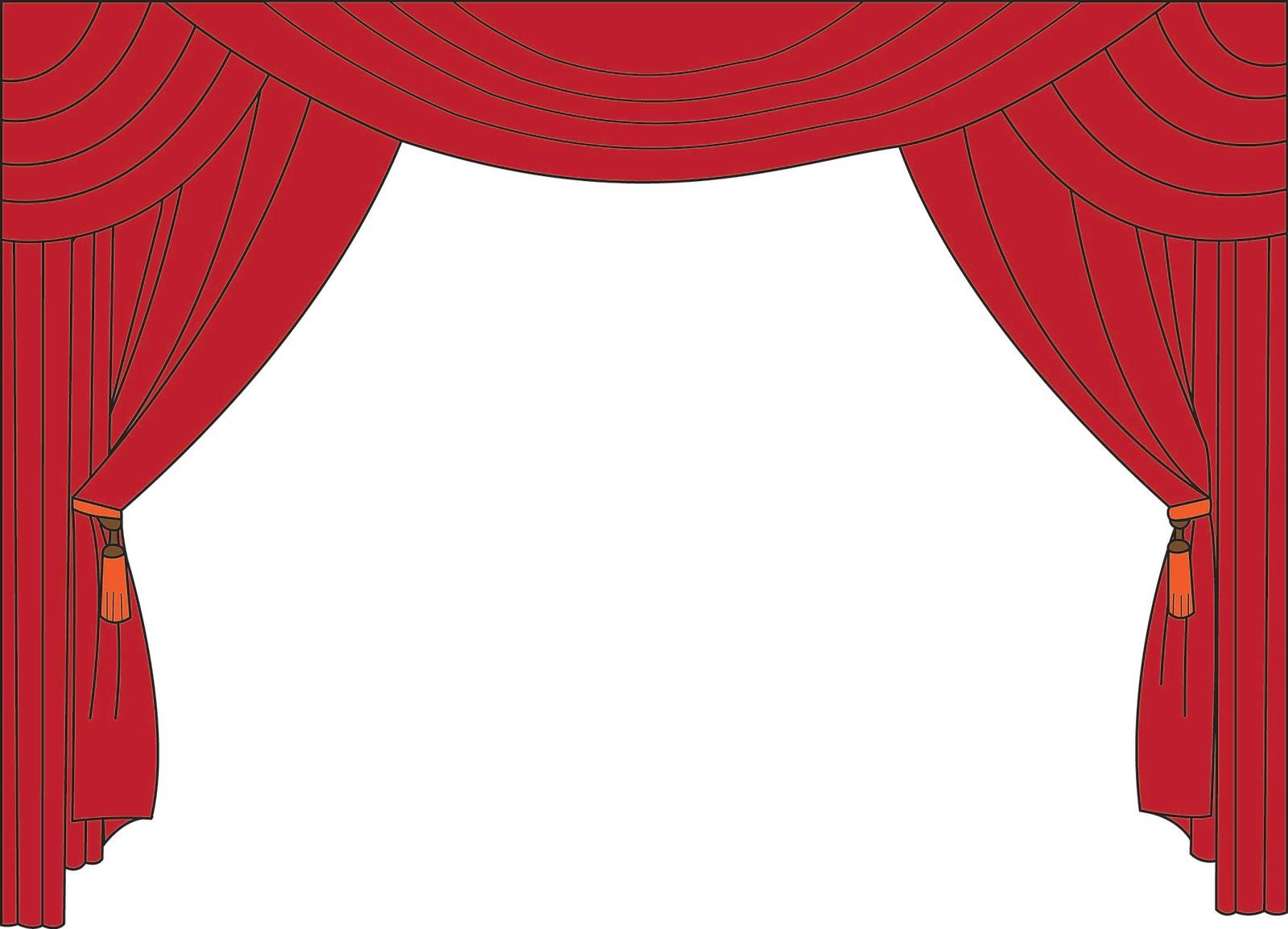 curtain clip art. Curtains clipart theatre