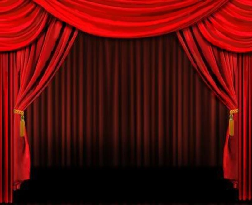 Curtains clipart animated. D theatre opening animation
