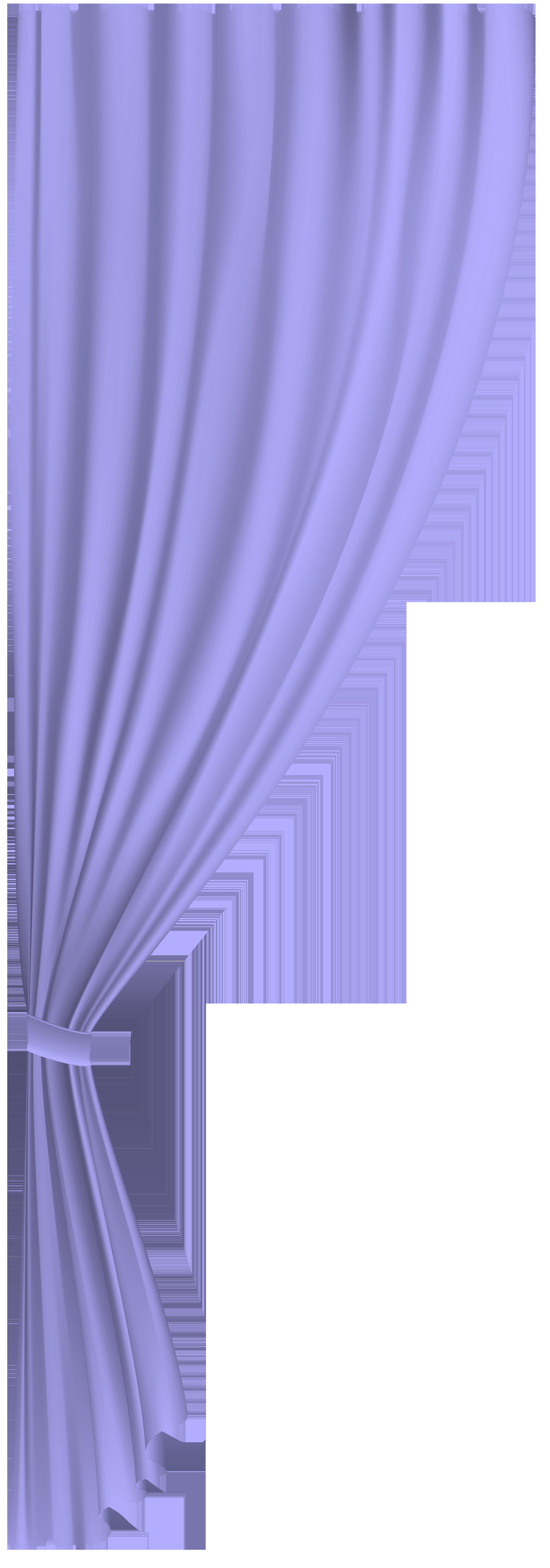 Curtains clipart animated. Violet curtain transparent clip