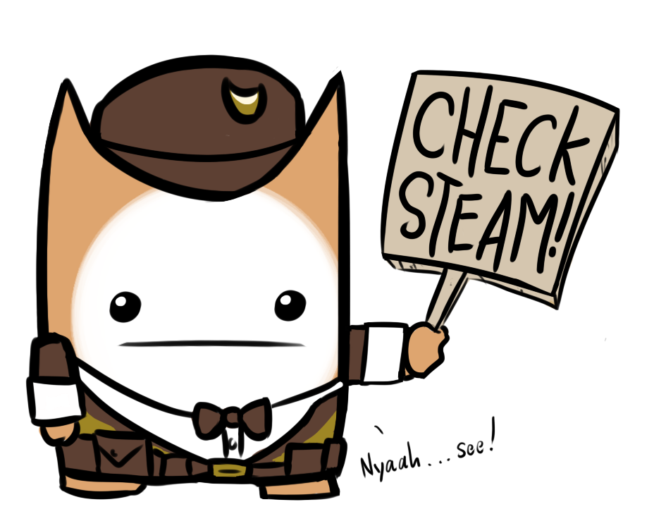 Cat guard by donsballz. Curtains clipart battleblock theater