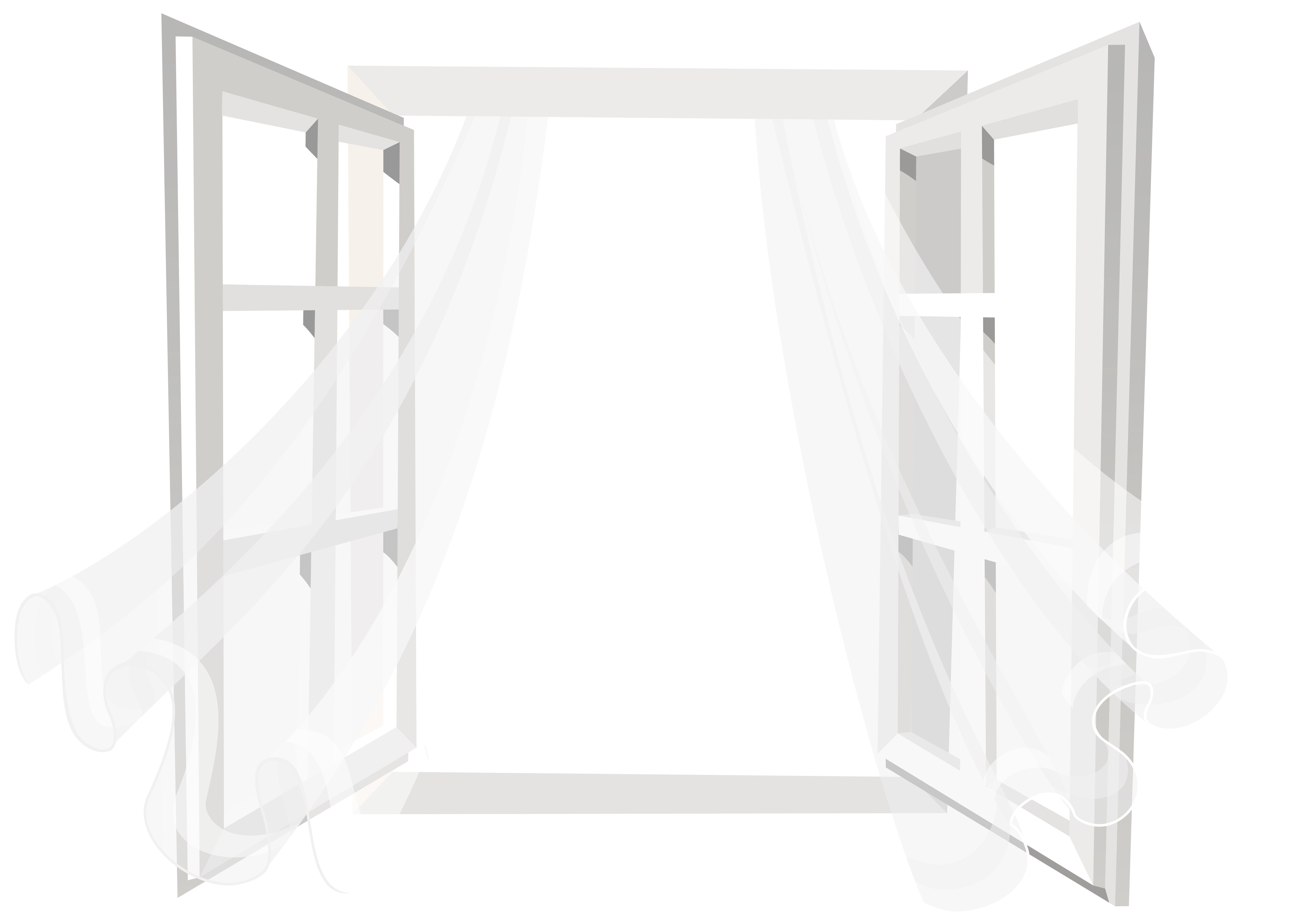 Open with curtain png. Furniture clipart bathroom window