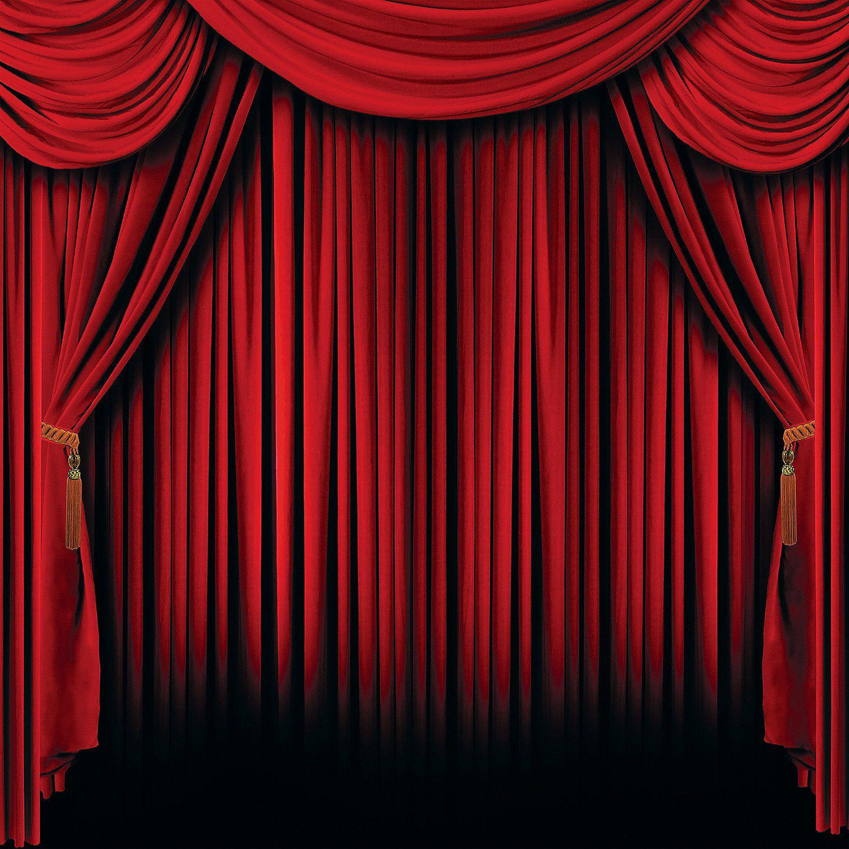 Curtain clipart big red. X free clip art