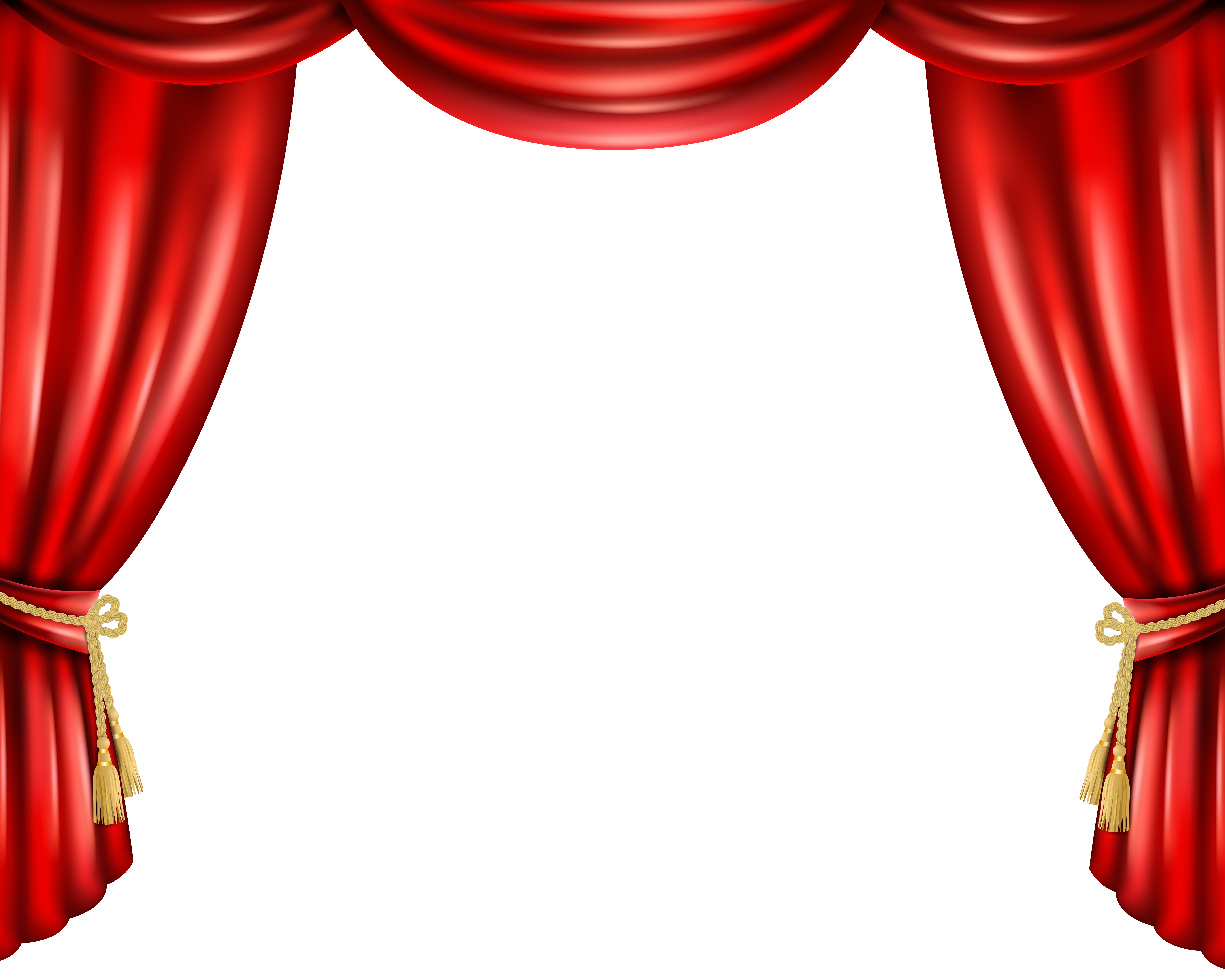 Win clipart curtain clipart.  great red background