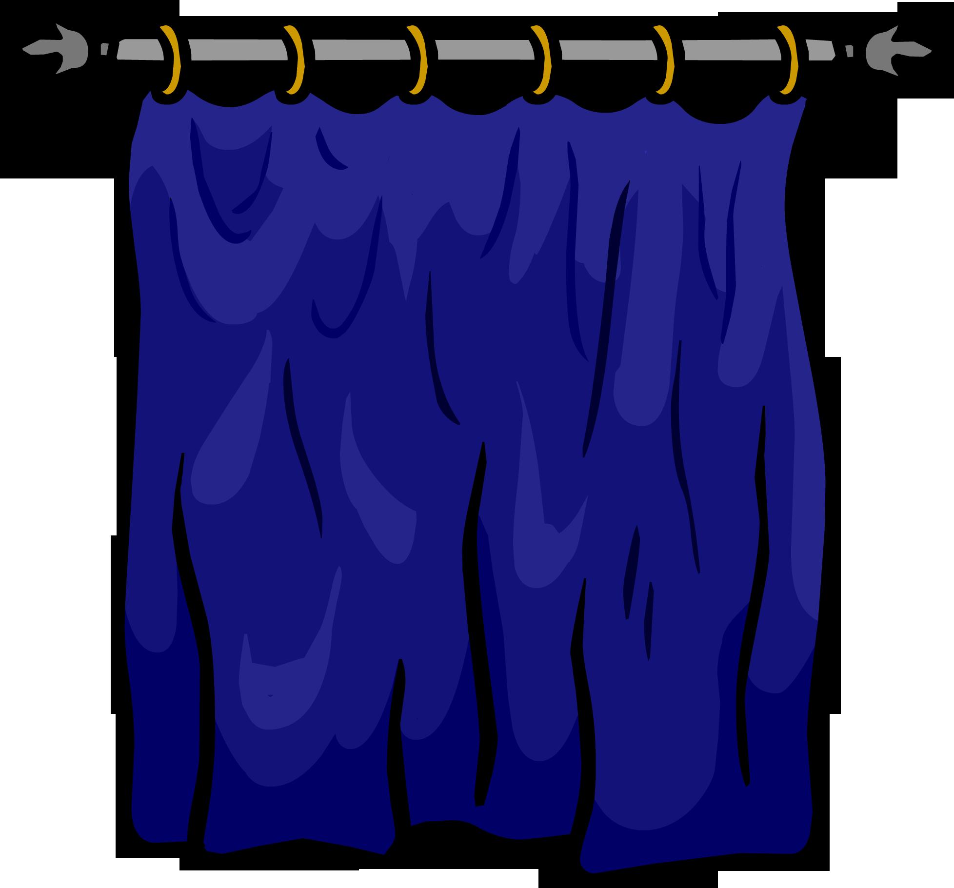 Win clipart curtain clipart. Blue club penguin wiki