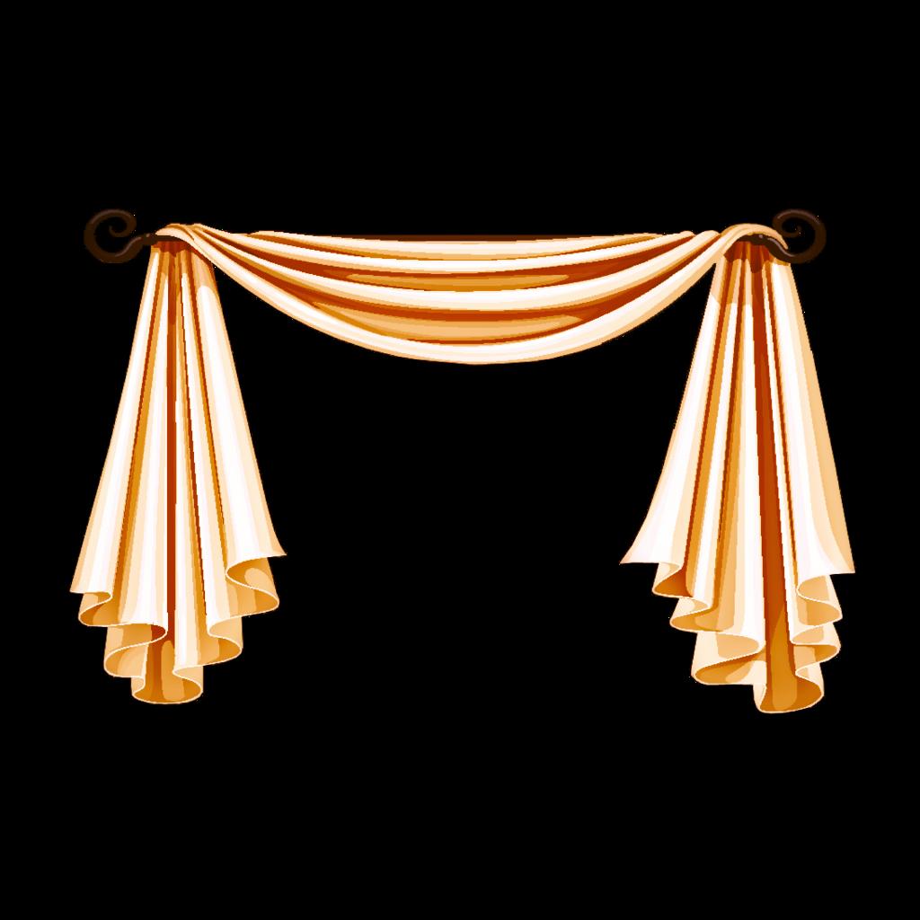 Fabric tela pa o. Curtain clipart cloth