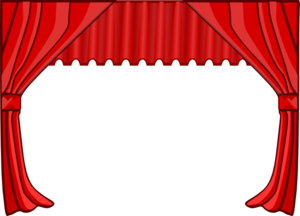 Free cliparts download clip. Curtains clipart curtain call