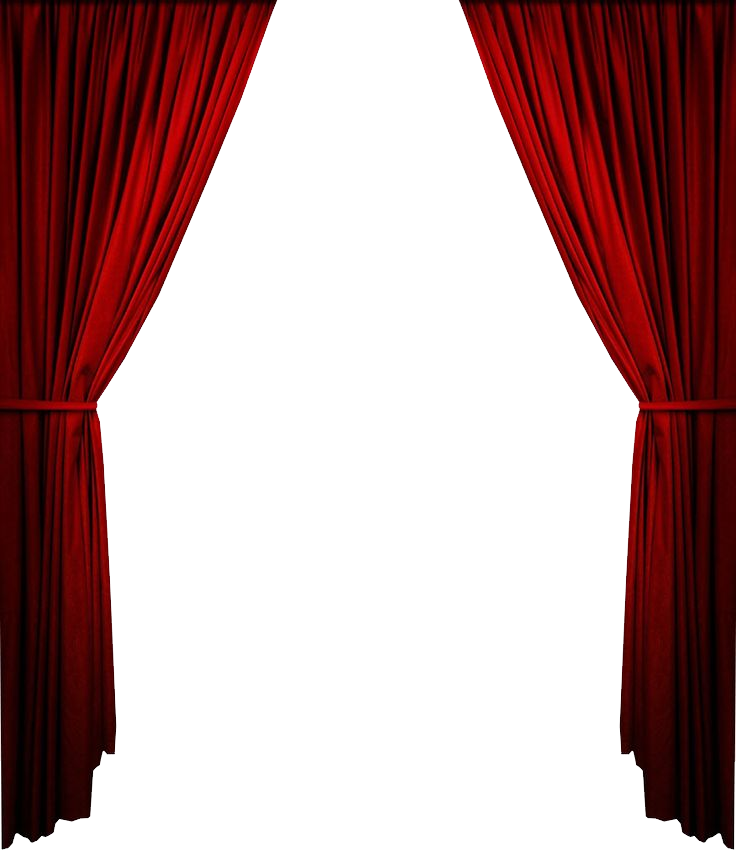 Curtains clipart press button. Png image purepng free