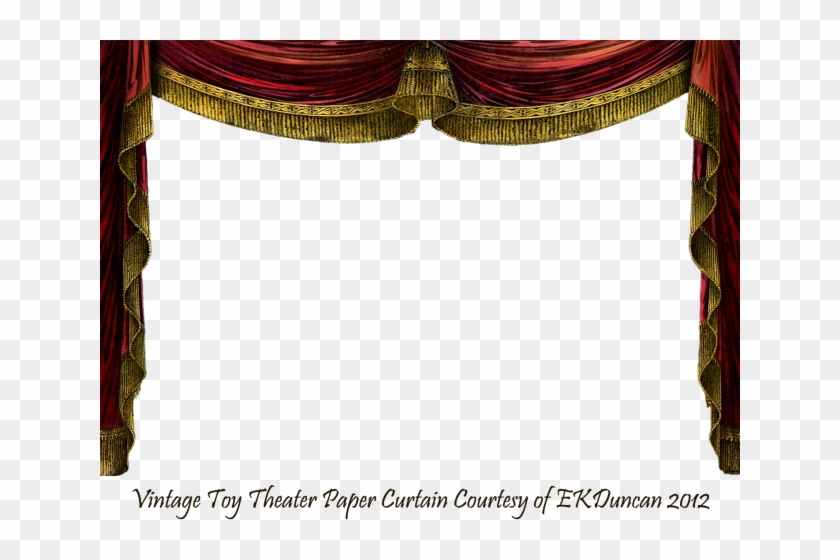 Curtains clipart press button. Stage vintage curtain png