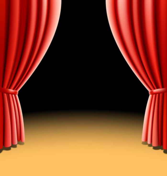 Curtains clipart dinner theatre. Free cliparts download clip