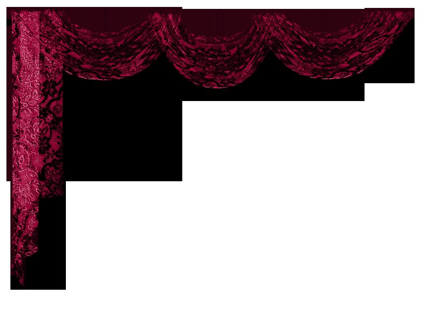 Curtains clipart mandap. Curtain decor transparent png
