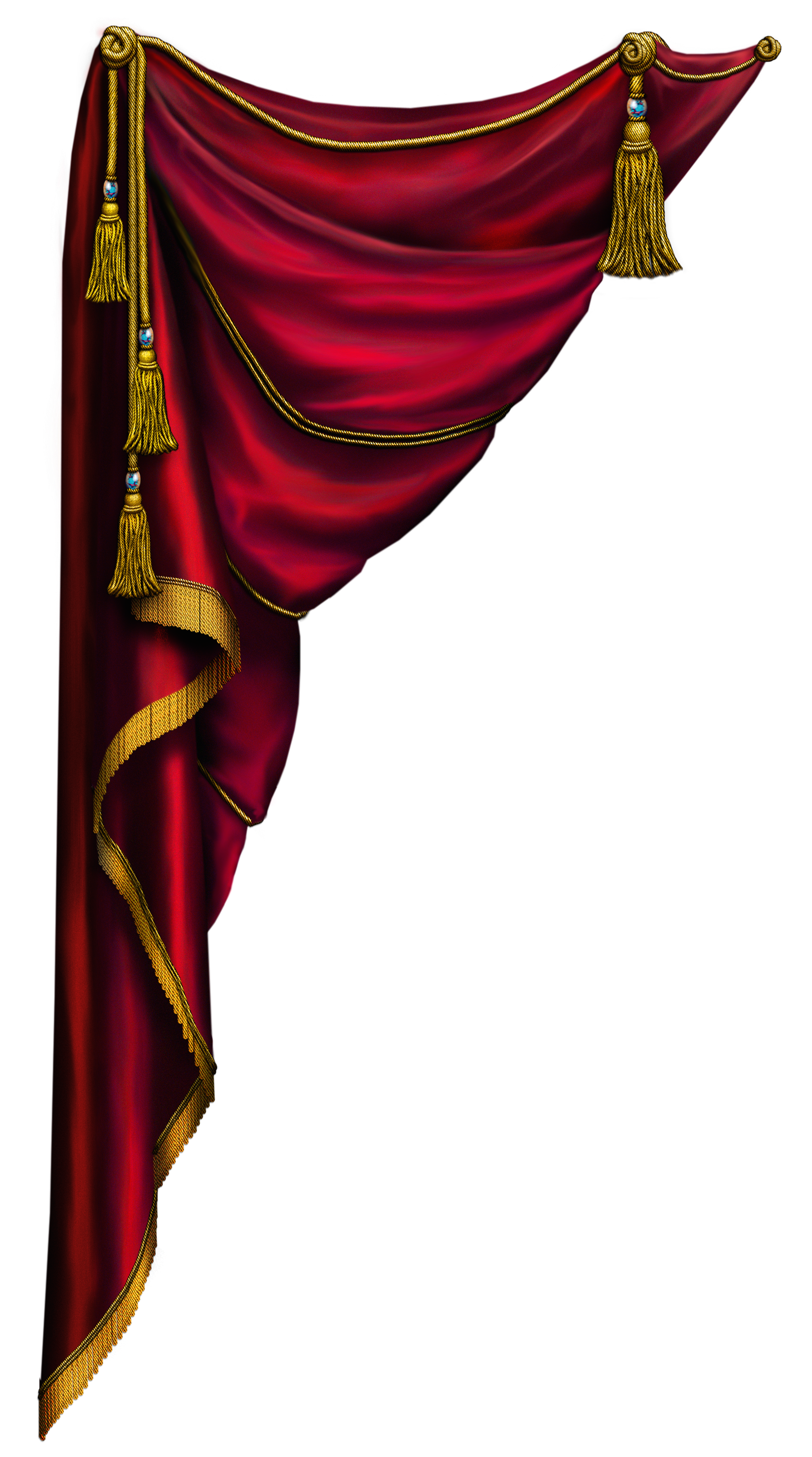 Curtains clipart mandap. Red curtain left miscellaneous