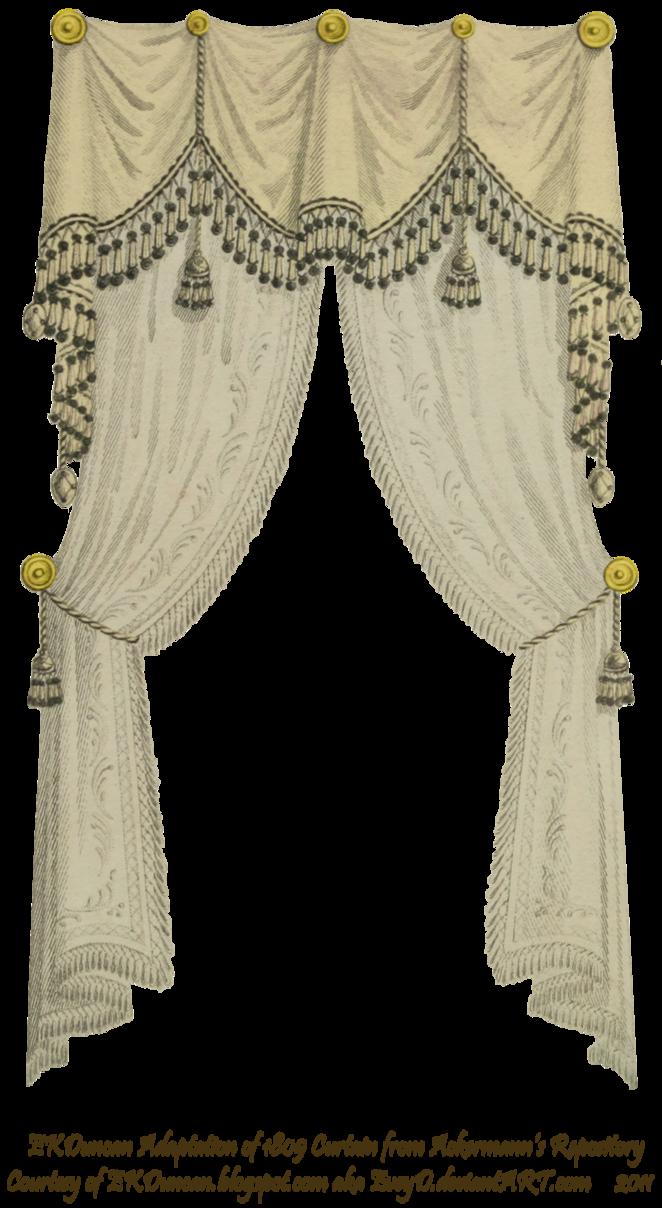 Curtain clipart elegant.  fringe and tassel