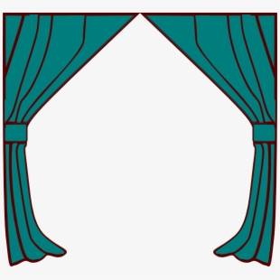 Curtains clipart morning window. Line art free