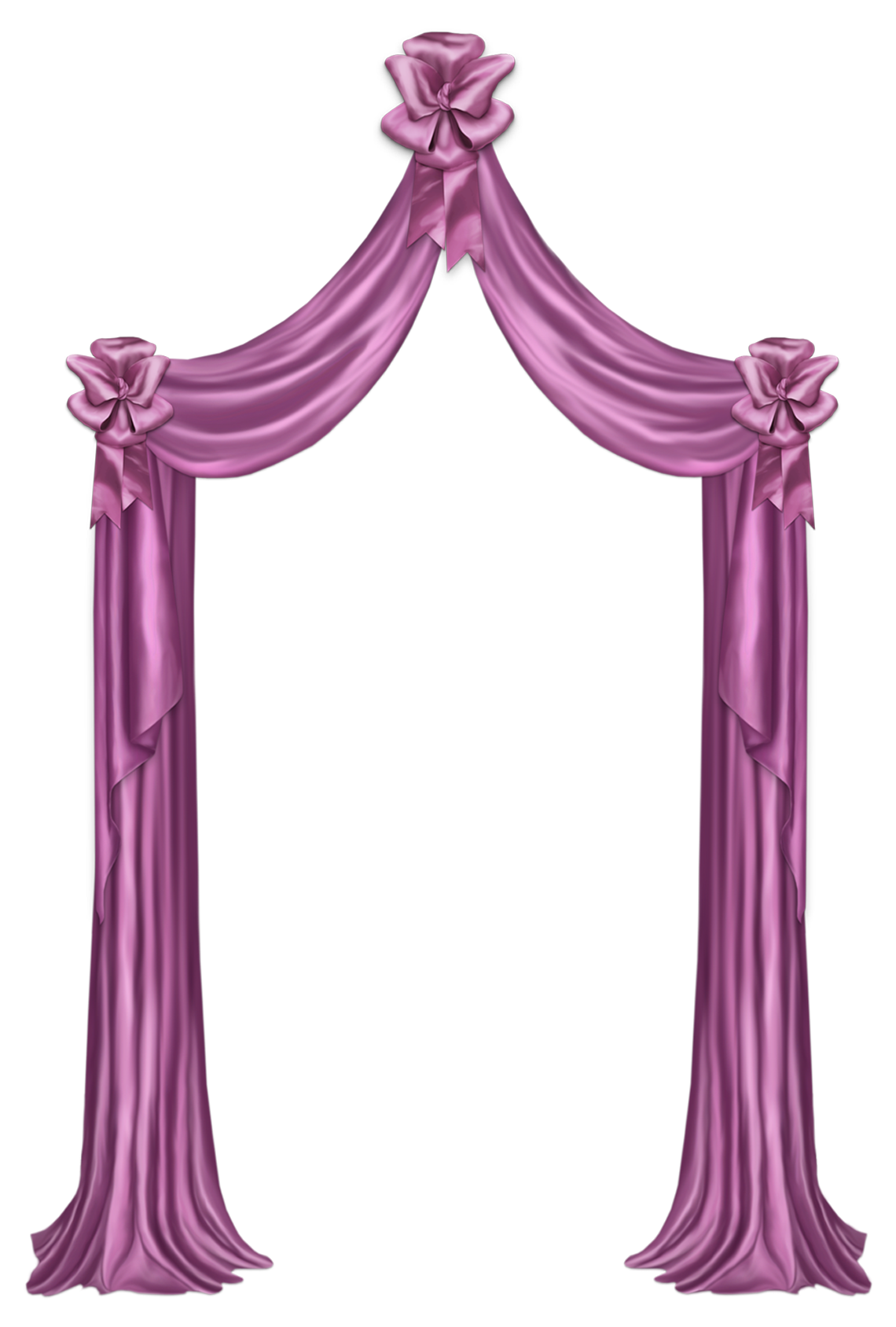 Decor png picture gallery. Curtains clipart pink curtain