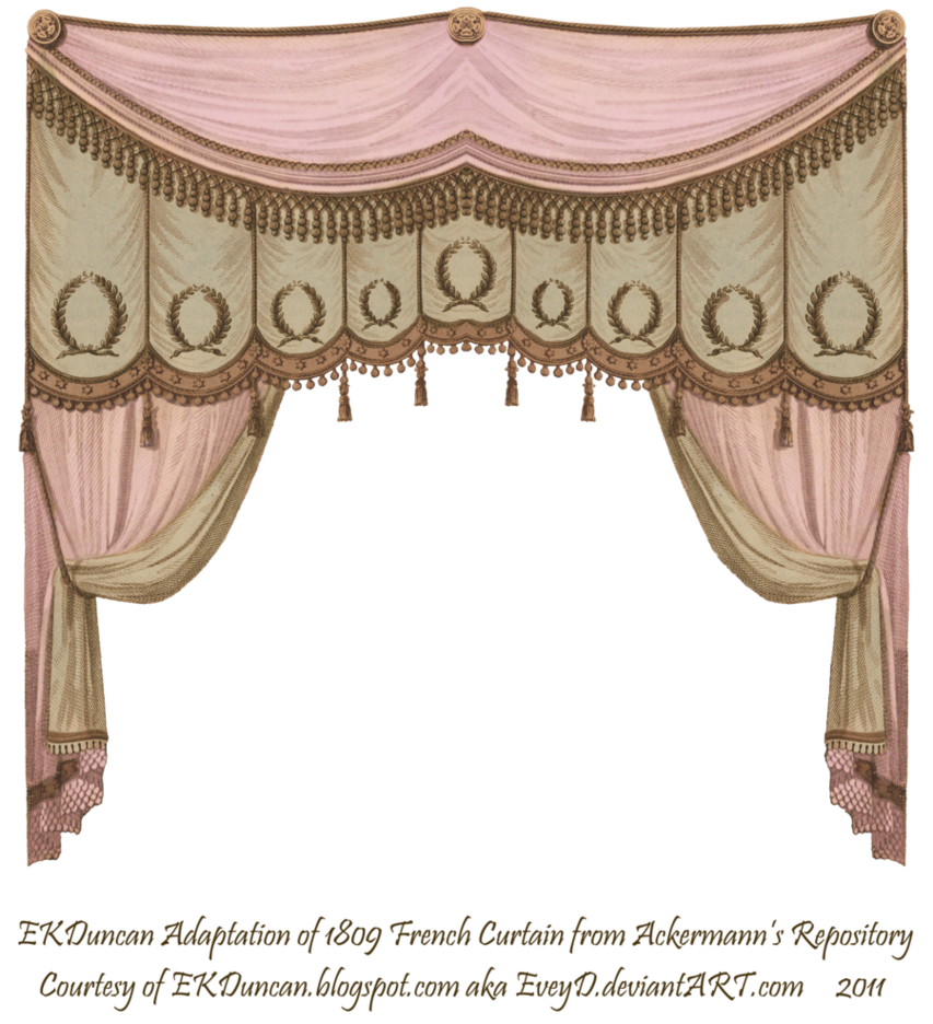 chocolate by eveyd. Curtains clipart pink curtain