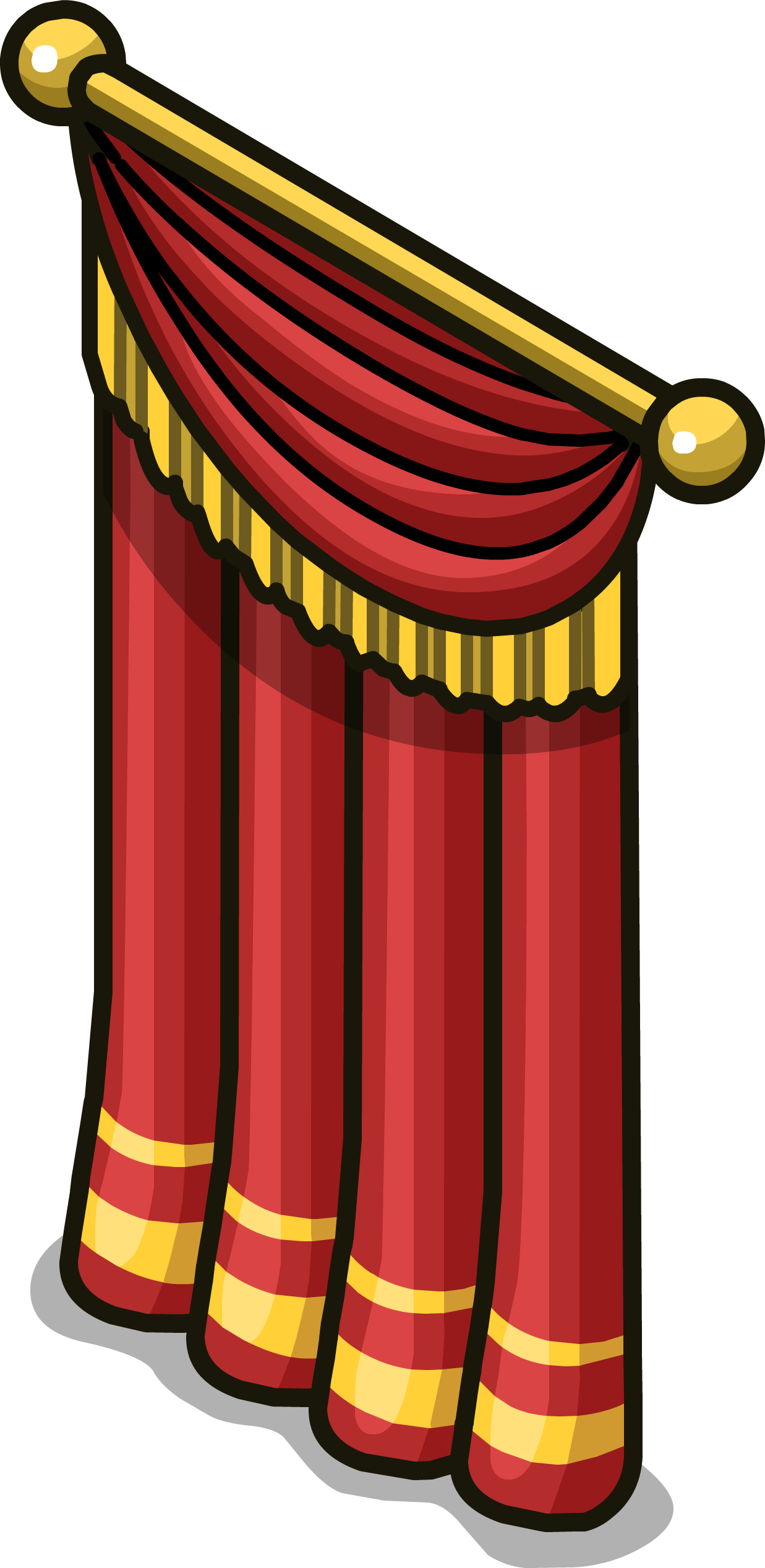 Win clipart curtain clipart. Image stage sprite png